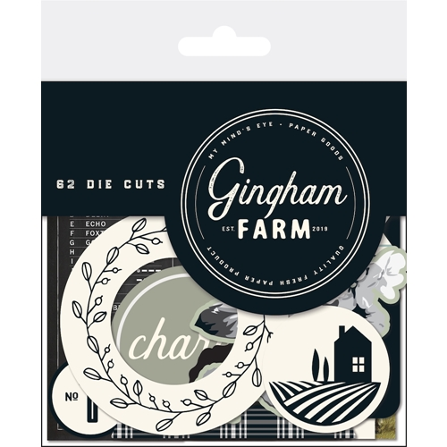 My Mind's Eye GINGHAM FARM Mixed Bag ghf116 Preview Image