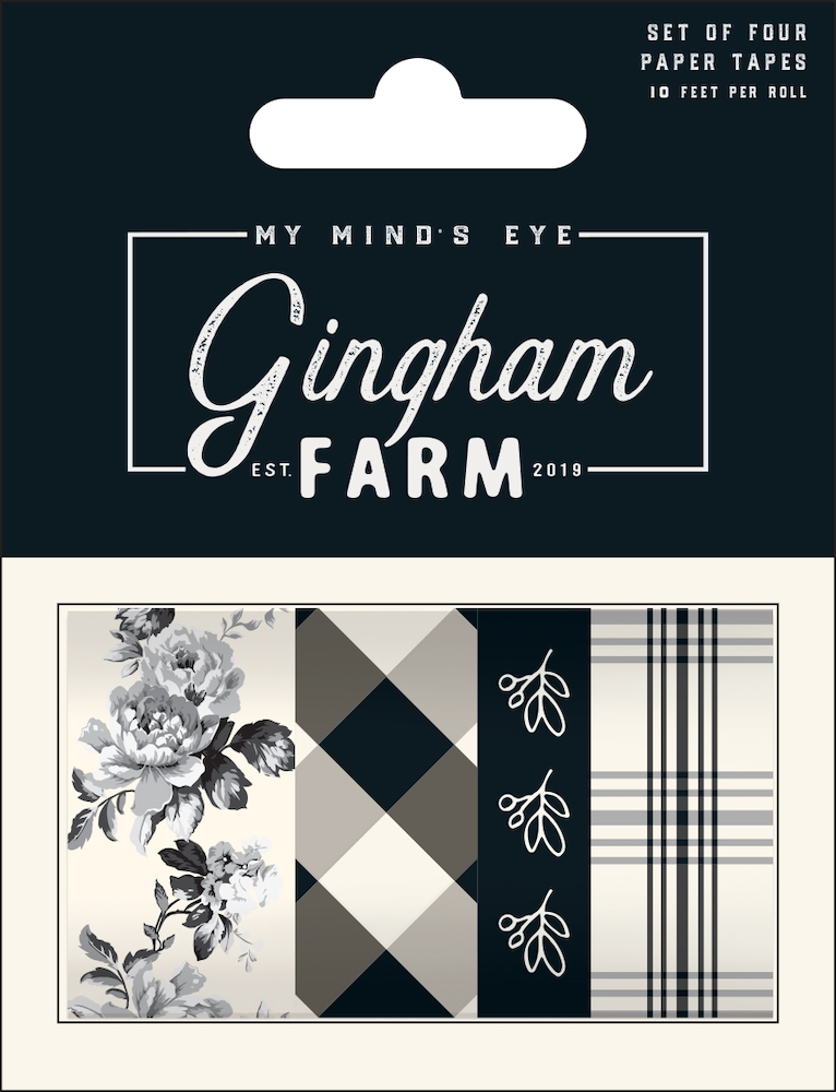 My Mind's Eye GINGHAM FARM Decorative Tape ghf119 zoom image