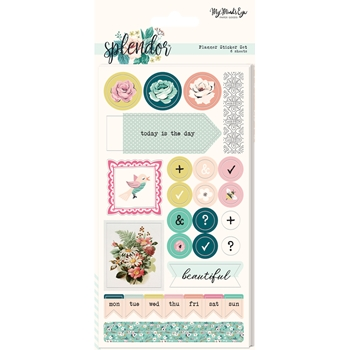 My Mind's Eye SPLENDOR Planner Sticker Set spl122