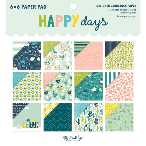 My Mind's Eye 6 x 6 HAPPY DAYS Paper Pad hpd110 Preview Image