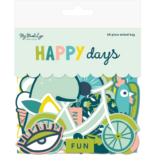 My Mind's Eye HAPPY DAYS Mixed Bag hpd116 Preview Image