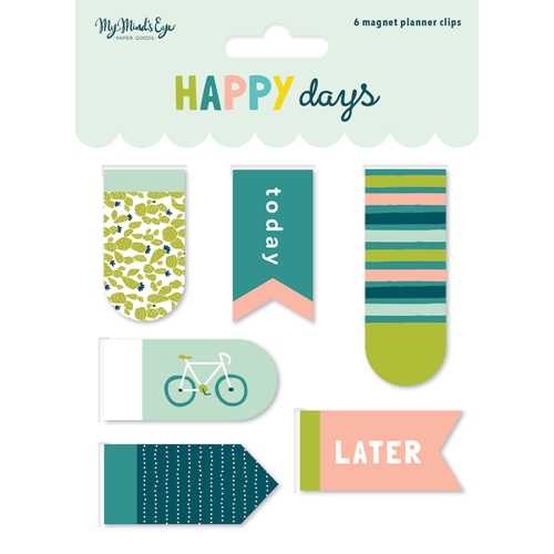 My Mind's Eye HAPPY DAYS Magnetic Clips hpd120 Preview Image