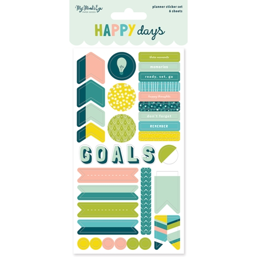 My Mind's Eye HAPPY DAYS Planner Sticker Set hpd121 Preview Image