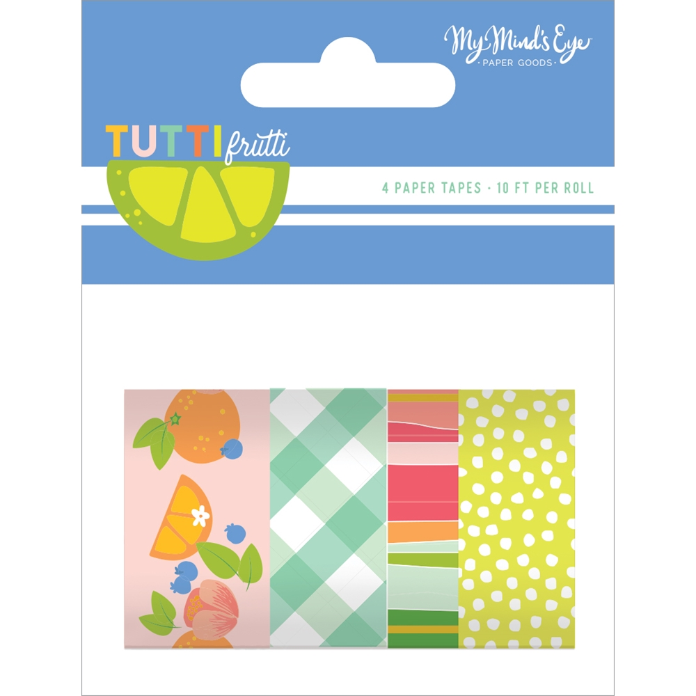 My Mind's Eye TUTTI FRUTTI Decorative Tape tut119 zoom image