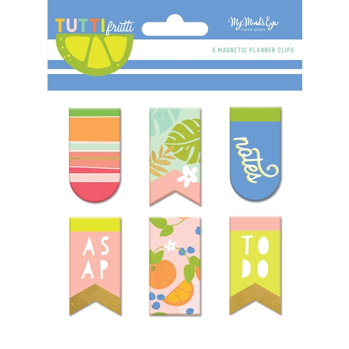 My Mind's Eye TUTTI FRUTTI Magnetic Clips tut120 Preview Image