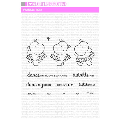 Clearly Besotted TWINKLE TOES Clear Stamps Preview Image