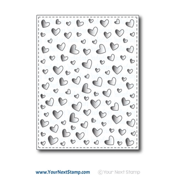 Your Next Die FLOATING HEART PANEL ynsd824