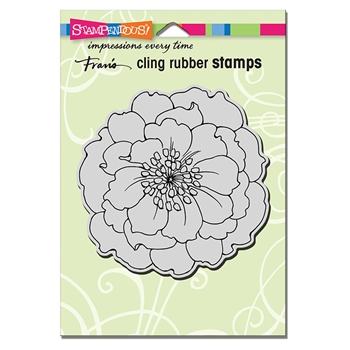 Stampendous Cling Stamp HELLEBORE crw207