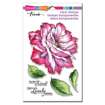 Stampendous Clear Stamp Set ROSE FRIEND ssc1303