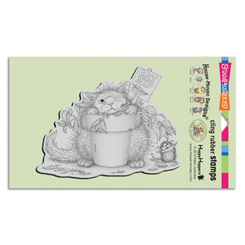 Stampendous Cling Stamp CATNIP SNACK hmcr126 House Mouse