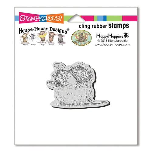 Stampendous, House Mouse Cotton Ball Cling Stamp