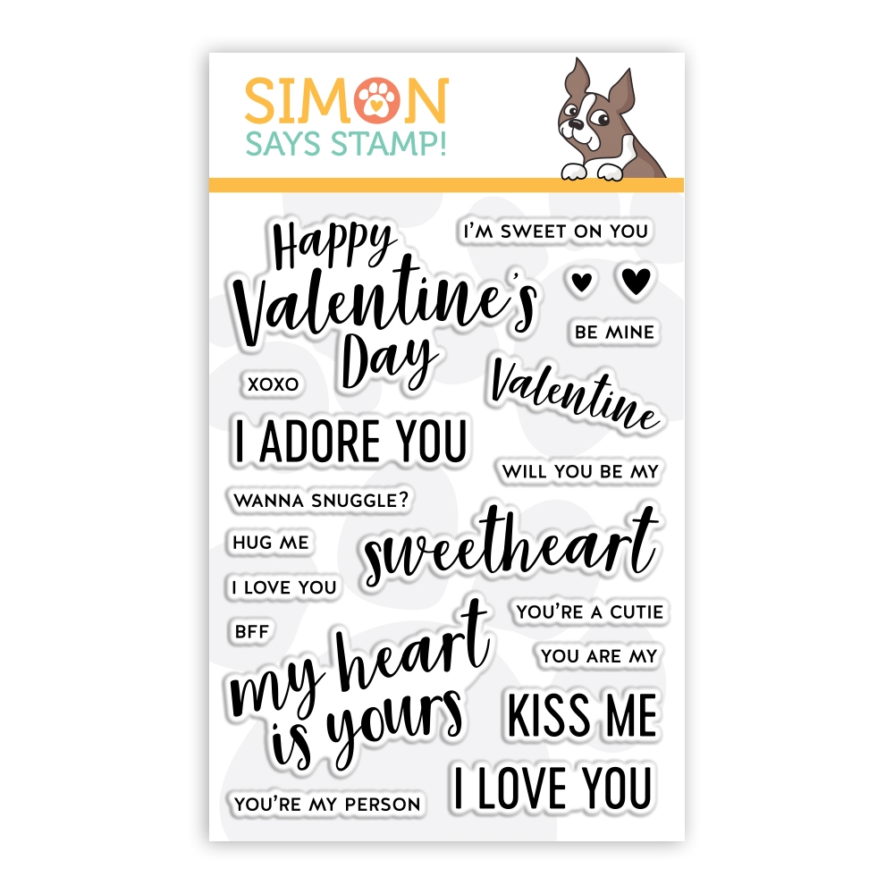 Simon Says Clear Stamps LOVE NOTES sss101967 zoom image