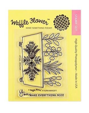 Waffle Flower SPICE POT Clear Stamp Set 271222 zoom image