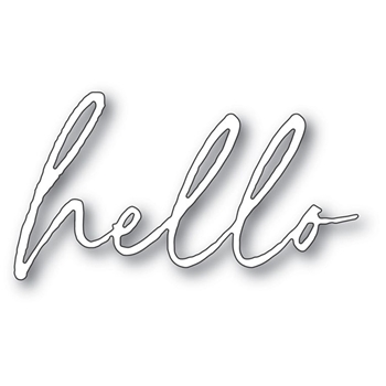 Memory Box BIG HELLO PREMIERE Craft Die 94105