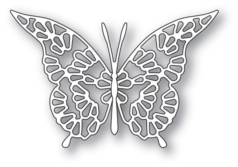 Memory Box LACE BUTTERFLY Craft Dies 94116 zoom image