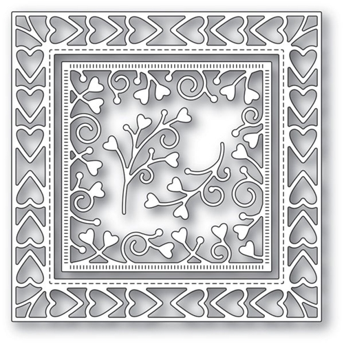Memory Box HEART BORDER FRAME Craft Dies 94118 Preview Image
