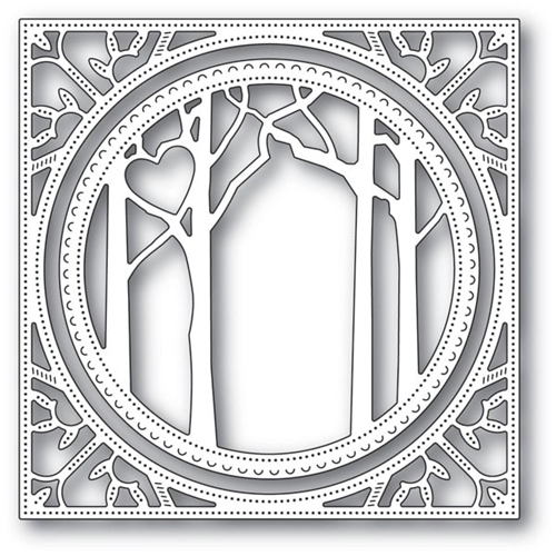 Memory Box WOODLAND HEART FRAME Craft Dies 94121 Preview Image