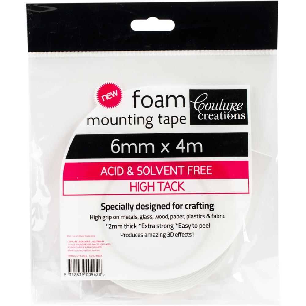 Couture Creations 6mmx4m FOAM MOUNTING TAPE co721962 zoom image