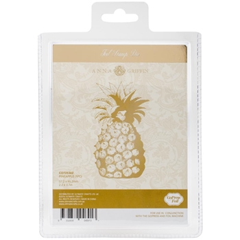 Couture Creations PINEAPPLE Hotfoil Stamp Anna Griffin co725362