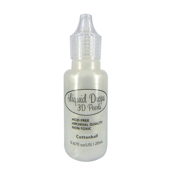 Couture Creations COTTONBALL Liquid Drops 3D Pearls ult157645