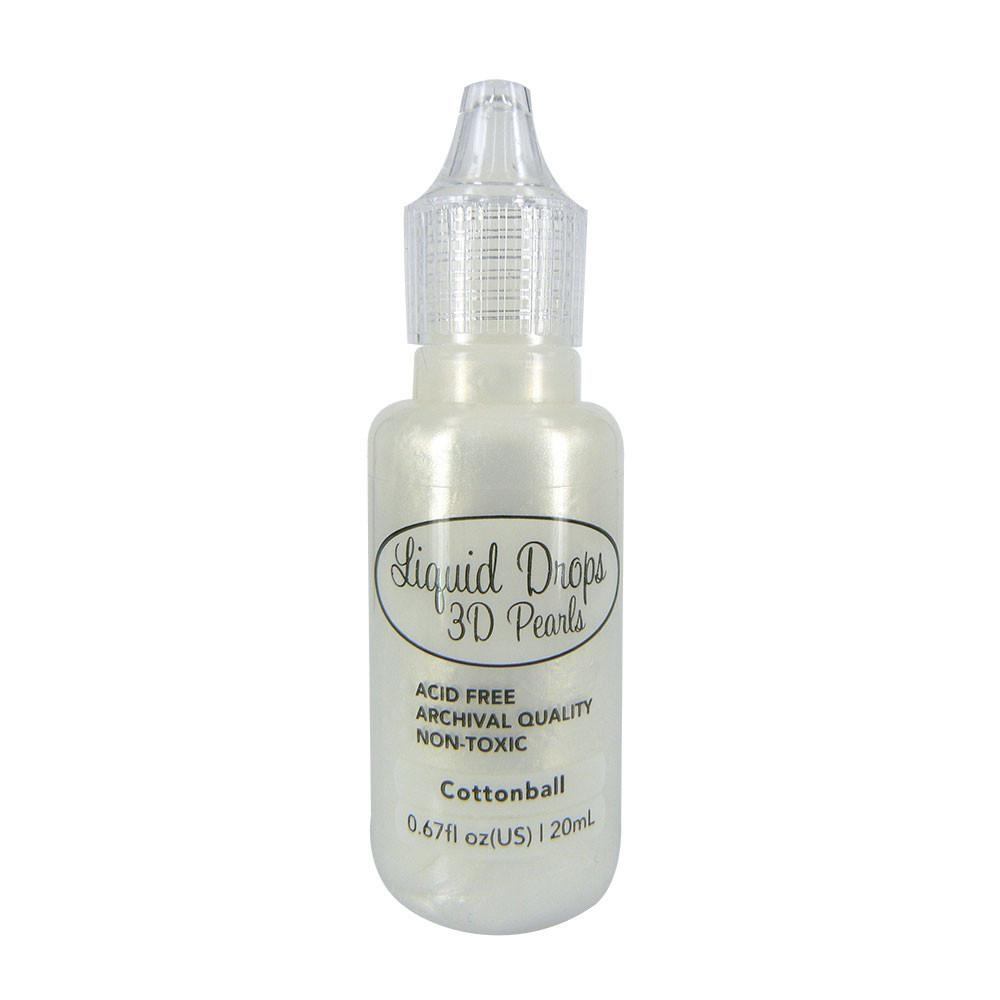Couture Creations COTTONBALL Liquid Drops 3D Pearls ult157645 zoom image