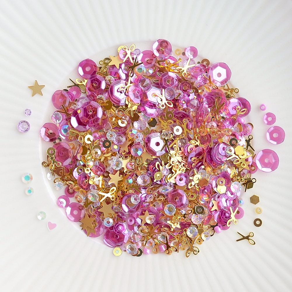 Little Things From Lucy's Cards HAPPY CRAFTING Sparkly Shaker Mix LB195 zoom image