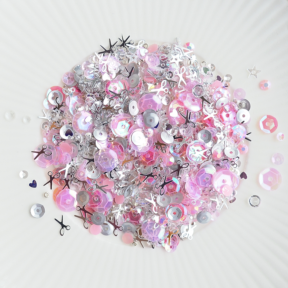 Little Things From Lucy's Cards LET'S GET CRAFTY Sparkly Shaker Mix LB194 zoom image