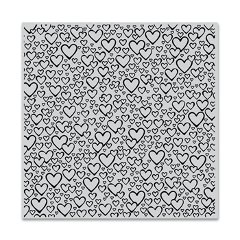 Hero Arts Cling Stamp BURSTING WITH LOVE BOLD PRINTS CG758