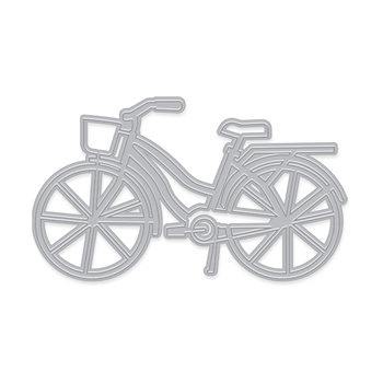 Hero Arts Fancy Dies BICYCLE WITH BASKET DI607