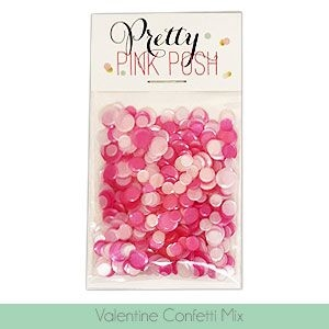 Pretty Pink Posh VALENTINE Confetti Mix  Preview Image