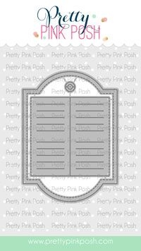 Pretty Pink Posh DECORATIVE TAGS 2 Dies  Preview Image