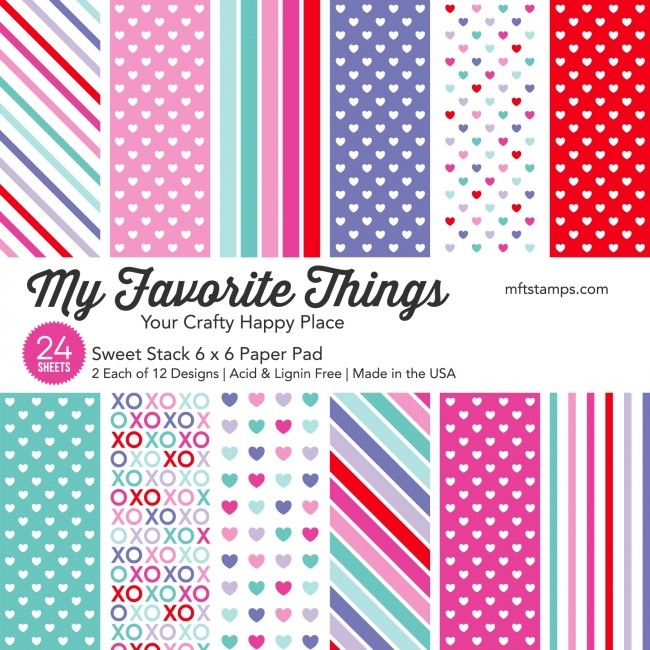My Favorite Things SWEET STACK 6x6 Inch Paper Pad 9336 zoom image