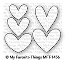 My Favorite Things LOTS OF HEARTS Die-Namics MFT1456