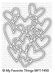 My Favorite Things HEARTS ENTWINED Die-Namics MFT1450 zoom image