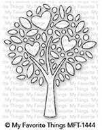 My Favorite Things HEART TREE Die-Namics MFT1444