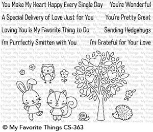 My Favorite Things WONDERFUL WOODLAND FRIENDS Clear Stamps CS363 zoom image