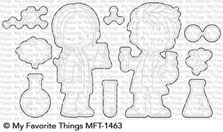 My Favorite Things CUTE CHEMISTS Die-Namics MFT1463 zoom image