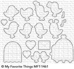 My Favorite Things TWEETHEARTS Die-Namics MFT1461