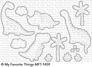 My Favorite Things CUTIEASAURUS Die-Namics MFT1459 Preview Image
