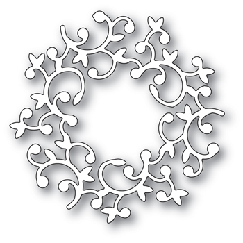 Memory Box HUTTON WREATH Craft Die 94008