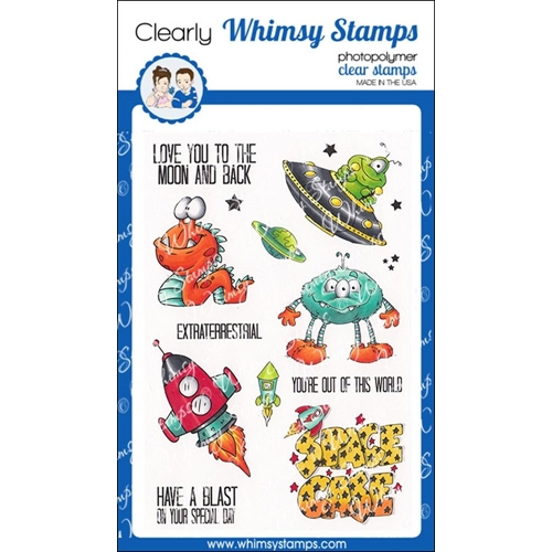 Whimsy Stamps A BOY'S DREAM Clear Stamps DP1002 Preview Image