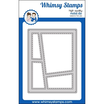 Whimsy Stamps WONKY WINDOW 1 Die WSD363