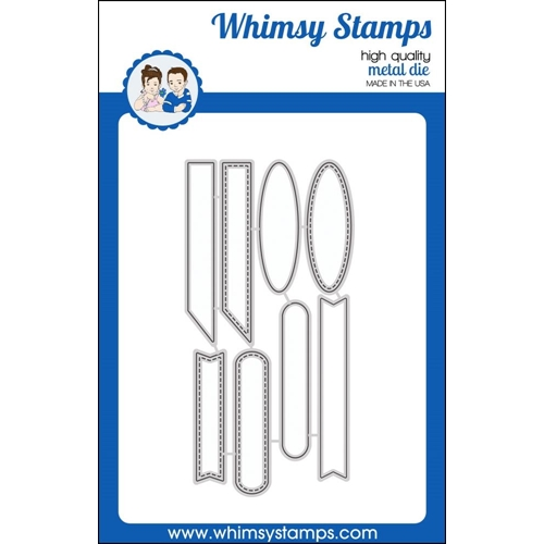 Whimsy Stamps QUICK STRIPS Dies WSD330 Preview Image