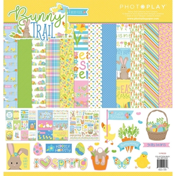 PhotoPlay BUNNY TRAIL 12 x 12 Collection Pack btl9232