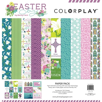 PhotoPlay EASTER JOY 12 x 12 Collection Pack ColorPlay ej9221