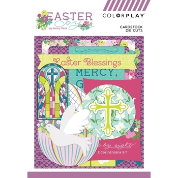 PhotoPlay EASTER JOY Ephemera ColorPlay ej9222