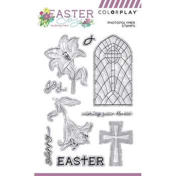 PhotoPlay EASTER JOY Clear Stamps ColorPlay ej9223