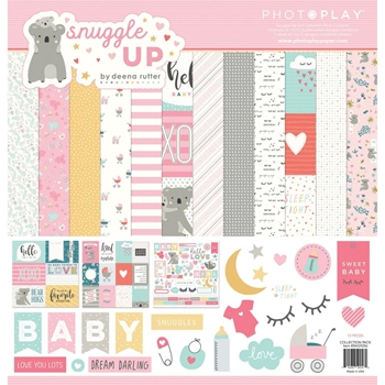 PhotoPlay SNUGGLE UP GIRL 12 x 12 Collection Pack sng9256
