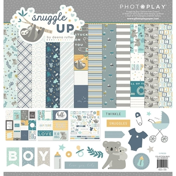 PhotoPlay SNUGGLE UP BOY 12 x 12 Collection Pack snb9245