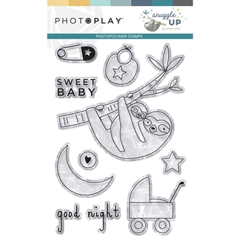 PhotoPlay SNUGGLE UP BOY Clear Stamps snb9247